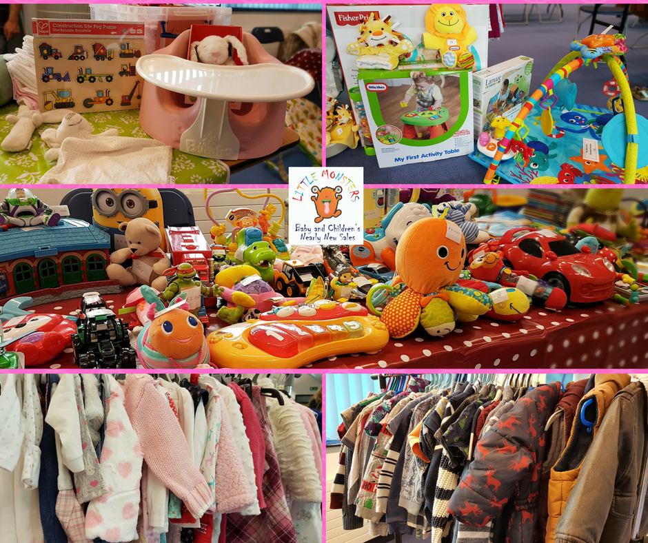 Little Monsters Taunton Baby and Children's Nearly New Sale
