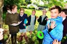 PHOTOS: Forget the classroom - pupils at primary school spend the day outdoors