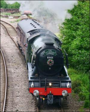 Somerset County Gazette: YOUR PICTURES: Flying Scotsman steams into Somerset