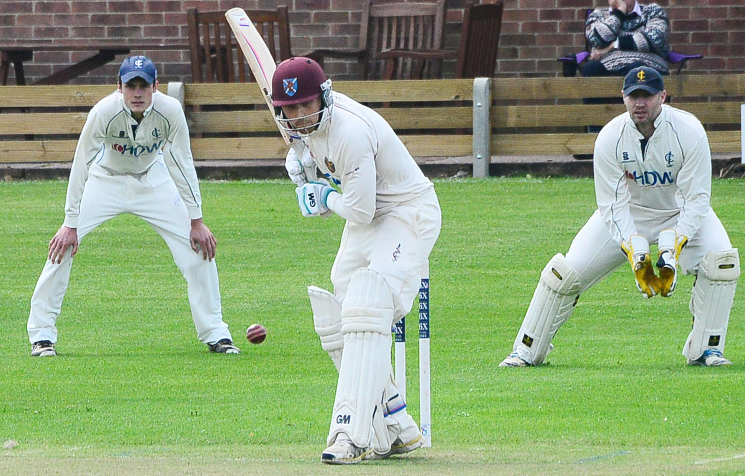 DEFEATED: Taunton St Andrew's, without captain James Regan (above), fell to defeat at Bishopston on Saturday.