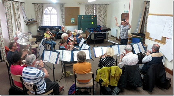 New conductor on board at Wiveliscombe Town Band
