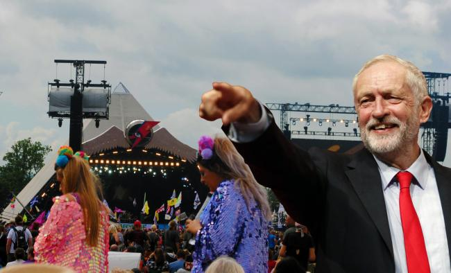 DATE: Jeremy Corbyn is heading to the Glastonbury Festival