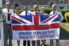 SUPPORT: Somerset celebrates Armed Forces Day