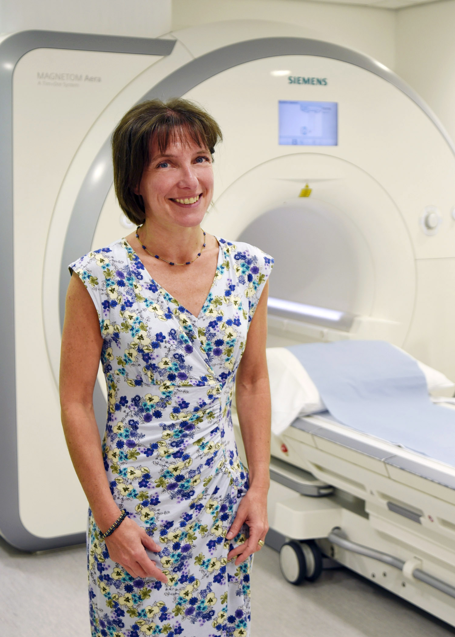 APPEAL: Dr Jo Brown, Musgrove Park Hospital, Taunton, joins MRI appeal