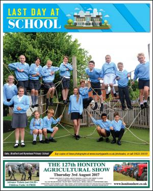 Somerset County Gazette: LAST DAY AT SCHOOL: Don't miss your County Gazette this week