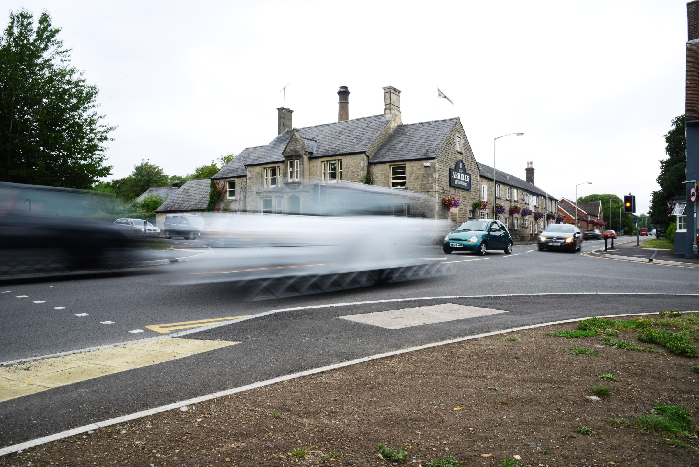 FRUSTRATING: A Gazette reader hopes the authorities will tackle the speeding issue after her husband's near-miss