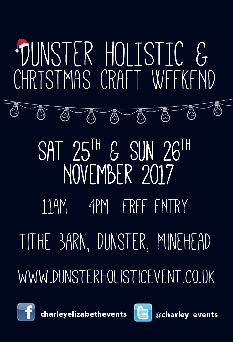 Dunster Holistic & Christmas Craft Weekend