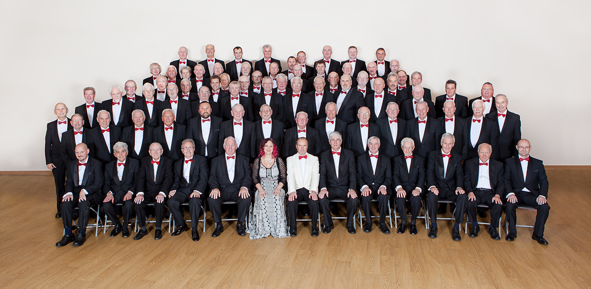 Cwmbach Male Voice Choir at Martock Church