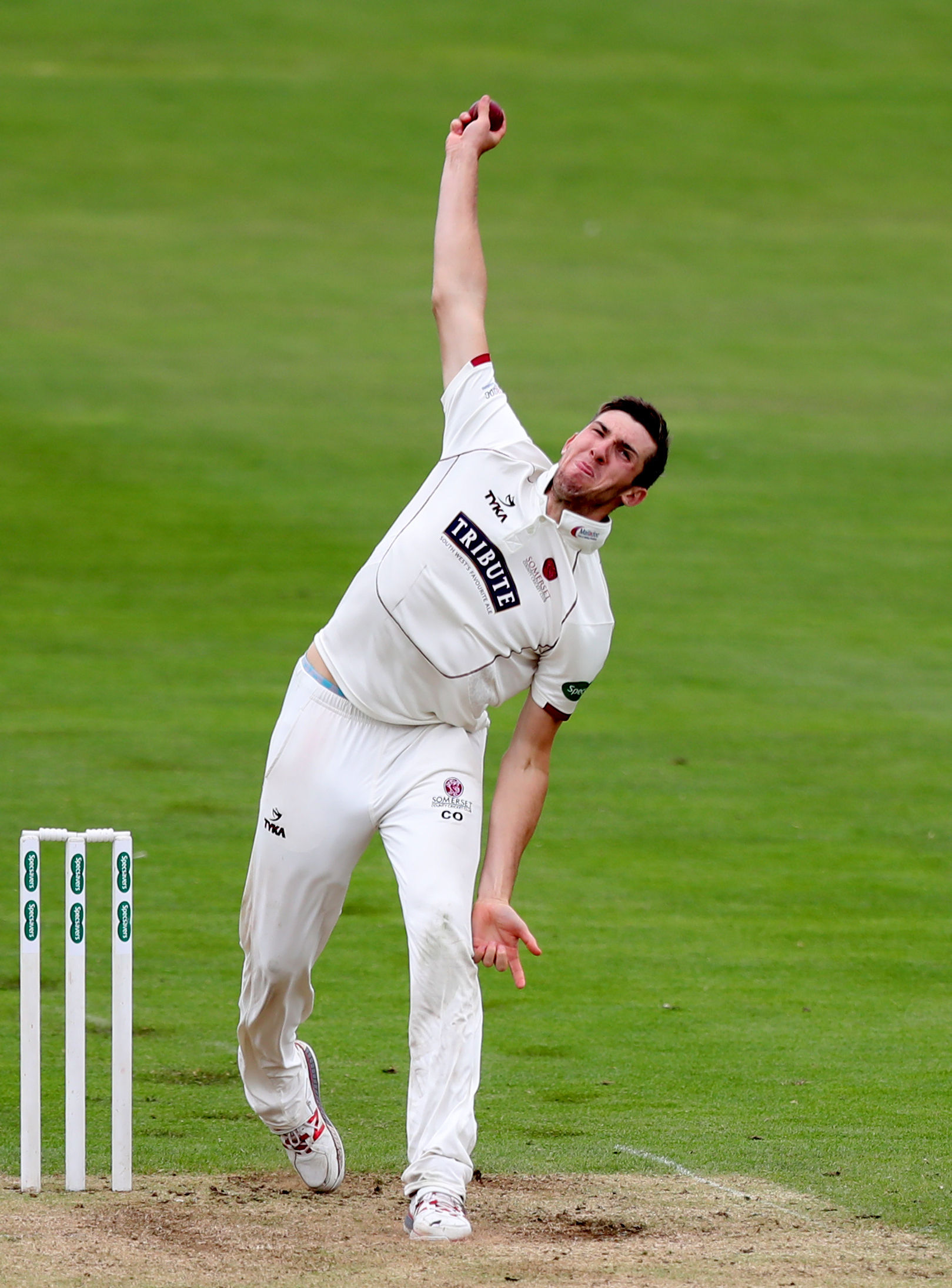 WAITING GAME: Somerset's Craig Overton will have to be patient having missed out on selection for the first Test. Pic: PA Wire