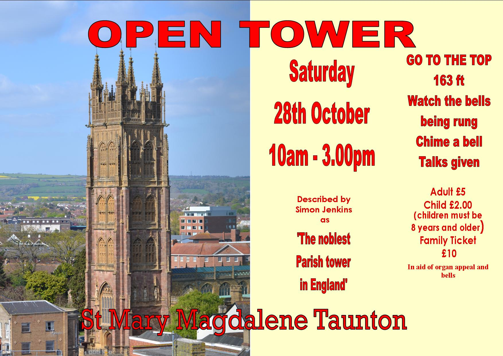 TOWER OPEN DAY