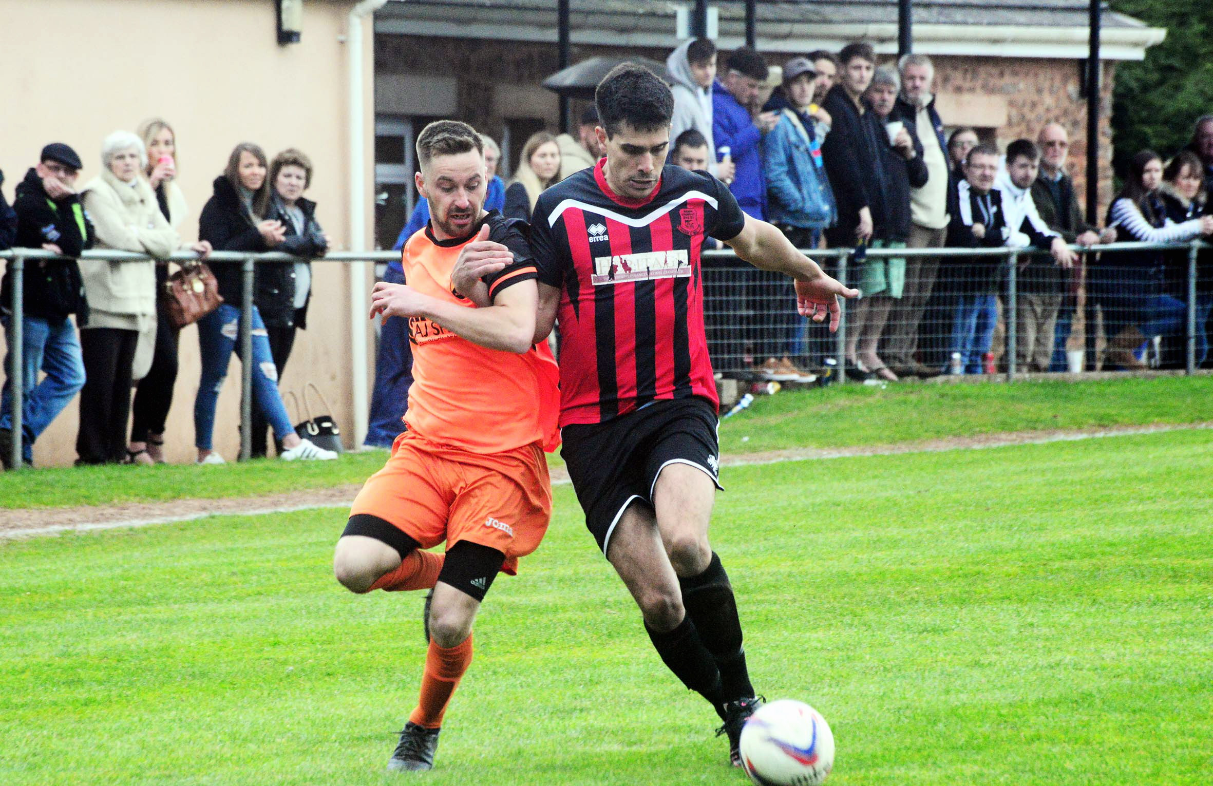 DEPARTURE: Wellington striker Jack Taylor (left) has joined Bridgwater Town