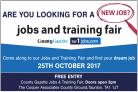 JOBS & TRAINING FAIR: Find your perfect career at our special event