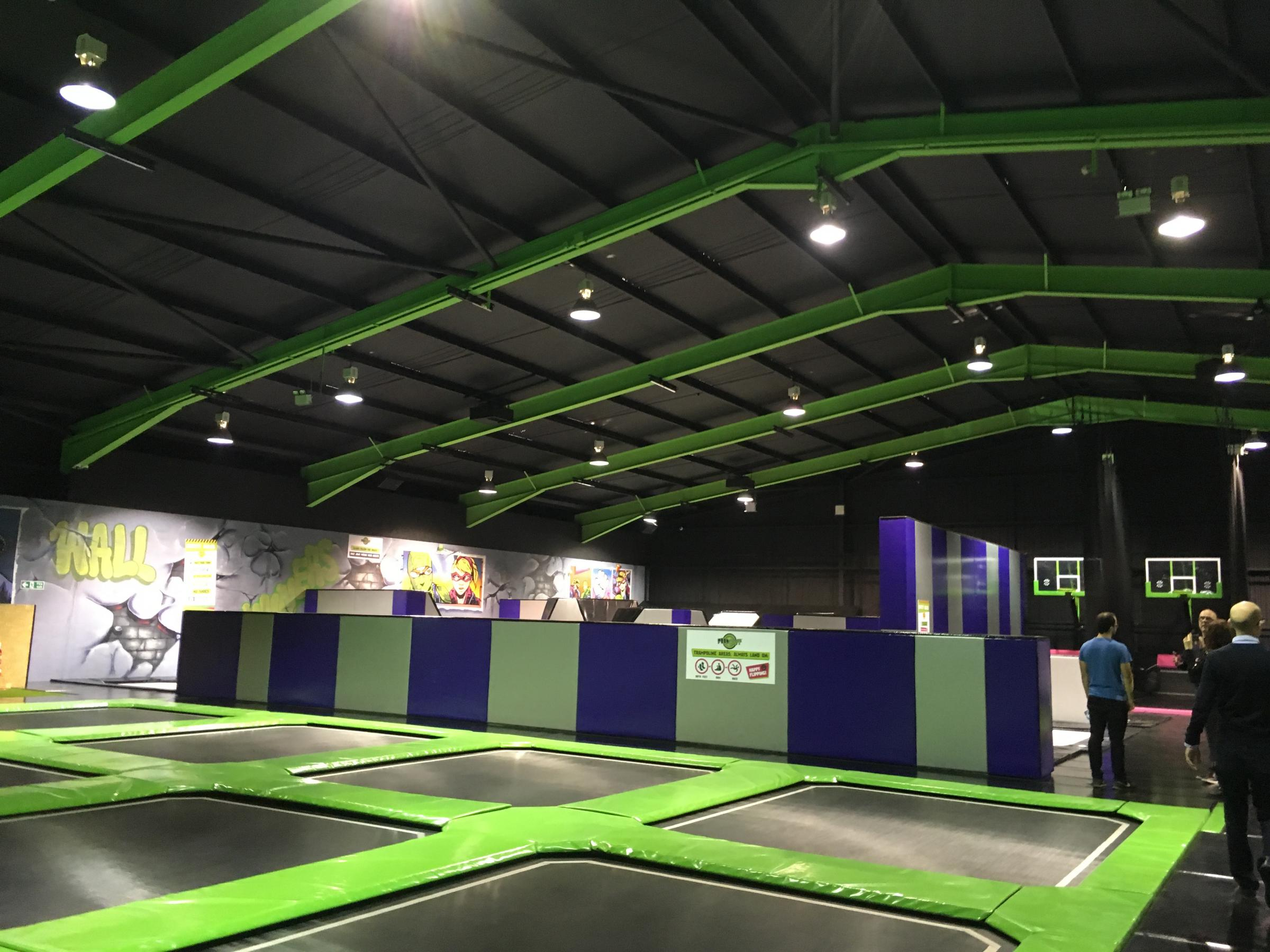 FlipOut Somerset based at Chelston Business Park