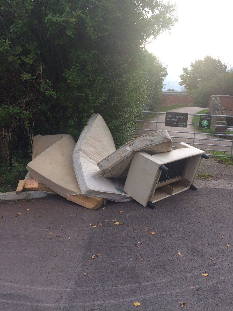 Flytipping at Taunton beauty spot causes outrage