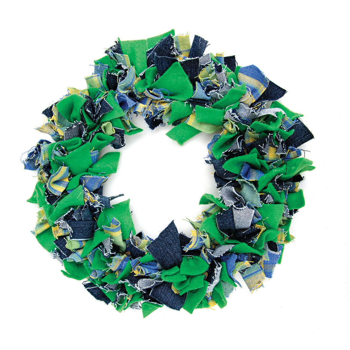 Fabric Proddy Wreaths