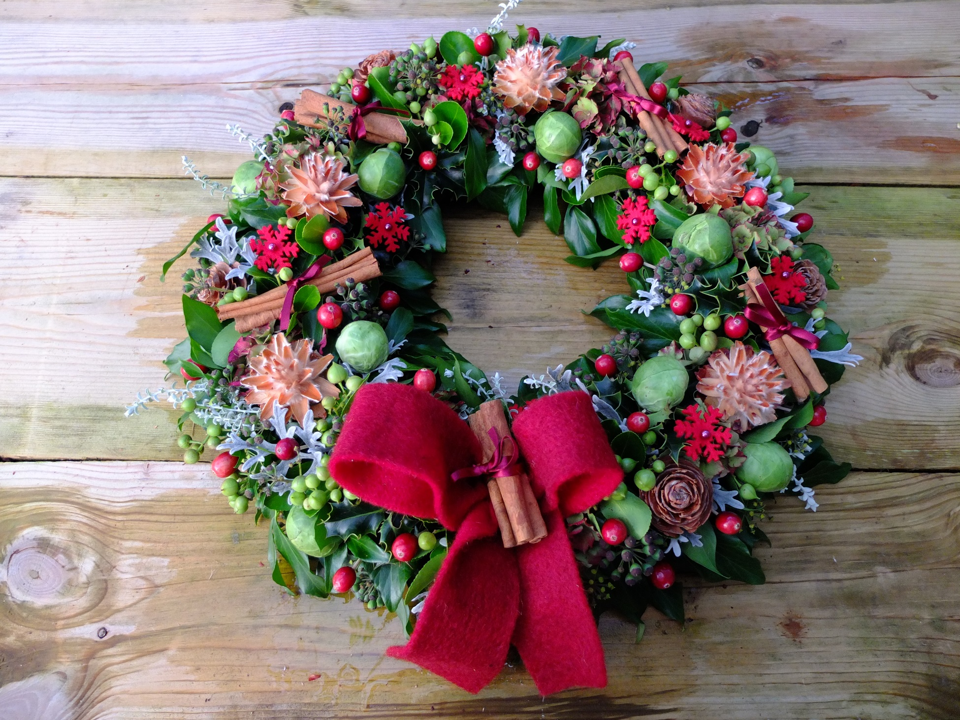 Somerset Door Wreath Workshop