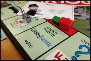 TAUNTON MONOPOLY: Get £5 off your copy of the new game