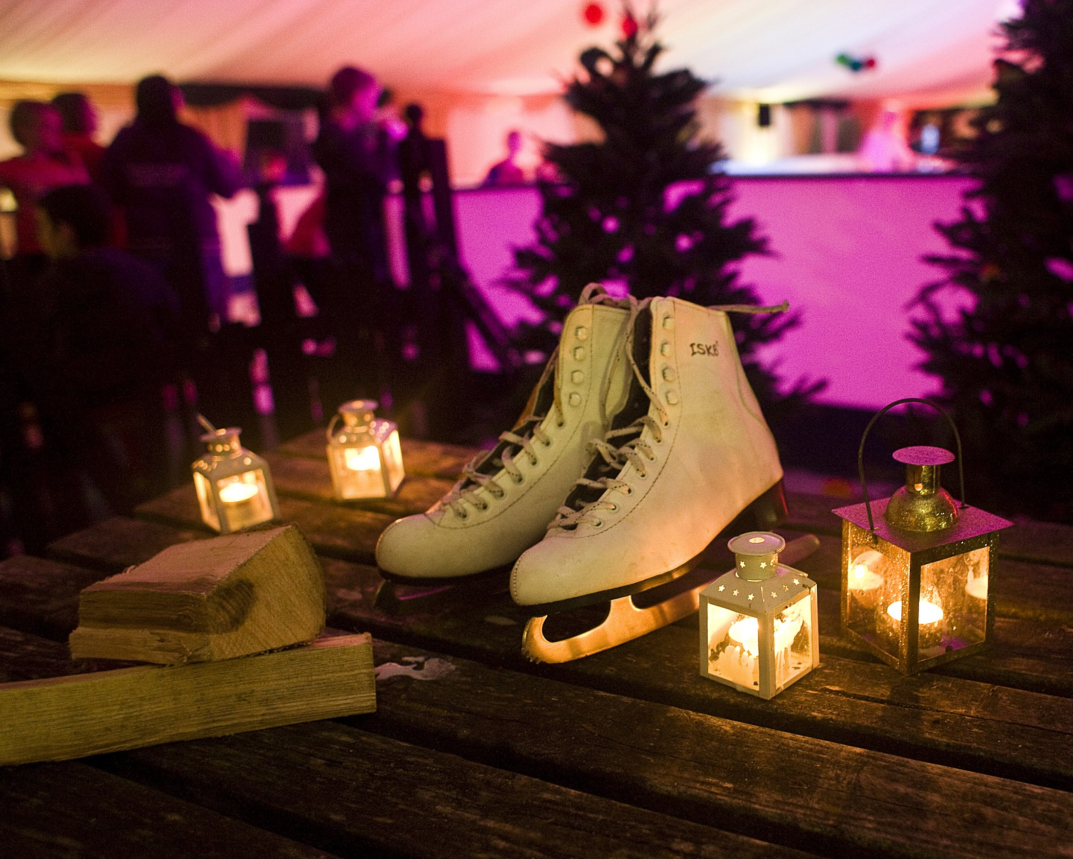 Festive Skating at Hestercombe
