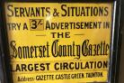 Some things never change - other things change a lot - old County Gazette advert