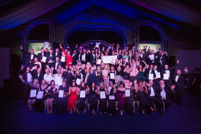 SUCCESS: Finalists at the 2017 Somerset Business Awards