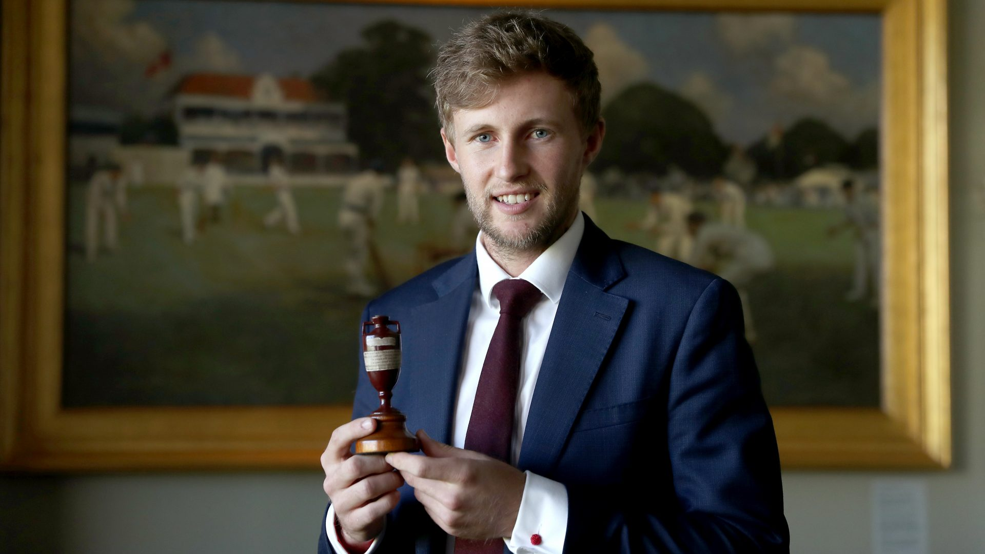OPTIMISTIC: England captain Joe Root has been impressed by Somerset's Craig Overton