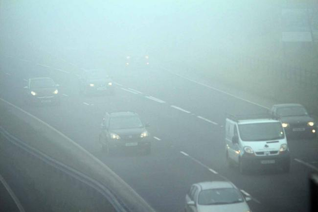 Fog warning for Somerset