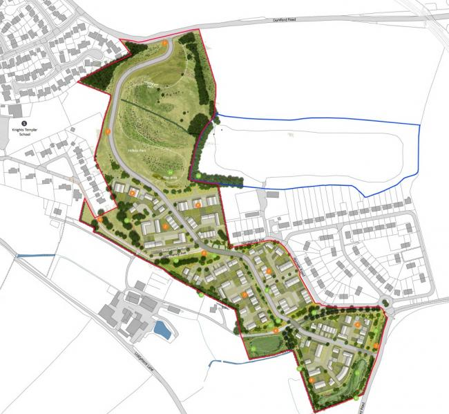 AMBITION: Plans for 139 near Doniford Road in Watchet have been submitted to West Somerset Council