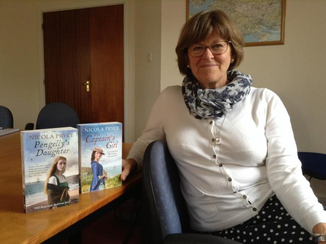 Tracks of my life with Taunton author, Nicola Pryce who has written Pengelly's Daughter and The Captain's Girl