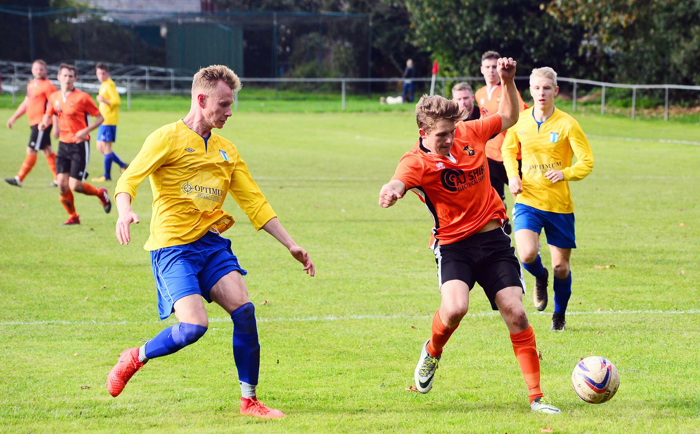 PROGRESS: Wellington eased past Chard in the Somerset Premier Cup.