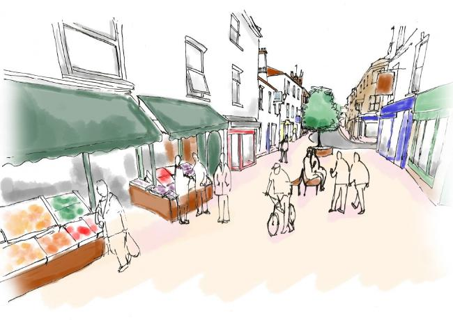 DELAYED: The proposed pedestrianisation of St James Street, Taunton