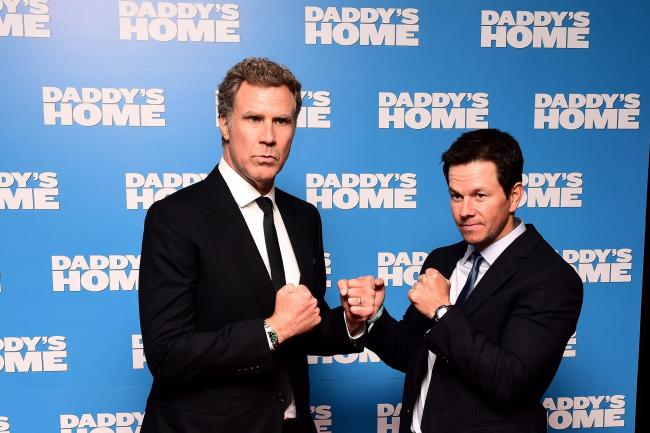 Will Ferrell (left) and Mark Wahlberg attending the Daddy s Home premiere  at the Vue 48729058f3