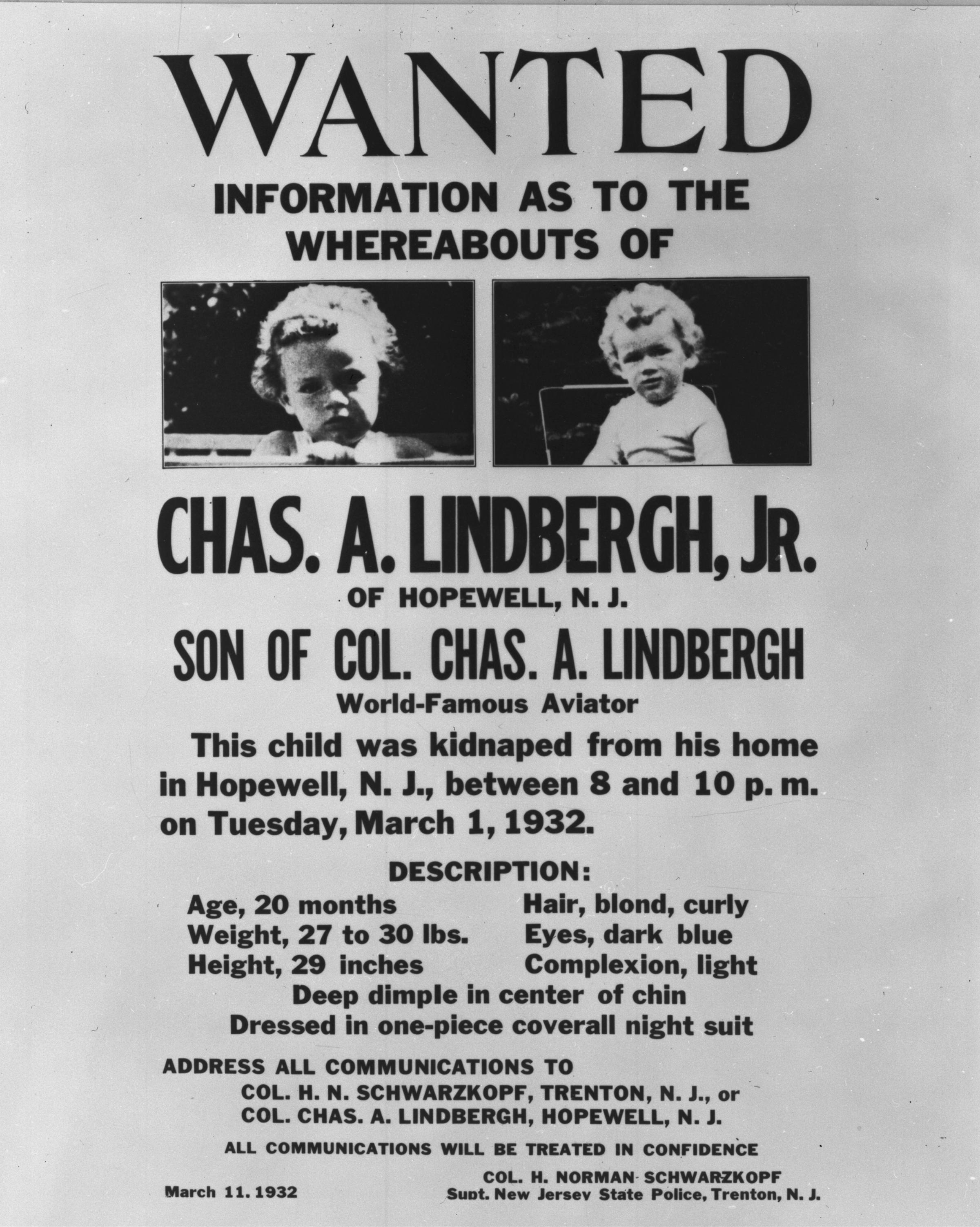 PBS America documentary aims to shed new light on Who killed Lindbergh's Baby?