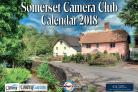 UP TO DATE: The 2018 Somerset Camera Club Calendar's front page, featuring a picture of Winsford, by Pete Watson