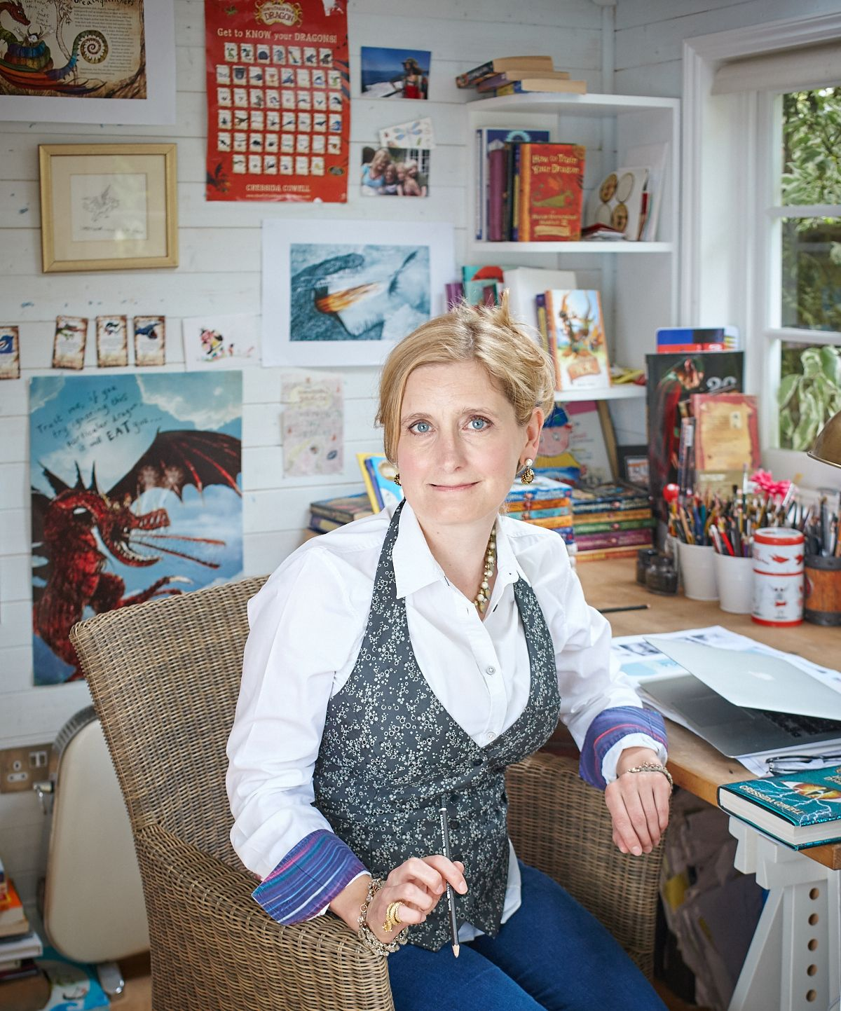 THE BIG INTERVIEW: Cressida Cowell speaks to the County Gazette about dragons, wizards and magic