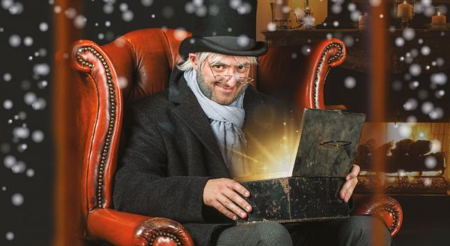 a christmas carol the musical at the brewhouse theatre is a perfect christmas treat which
