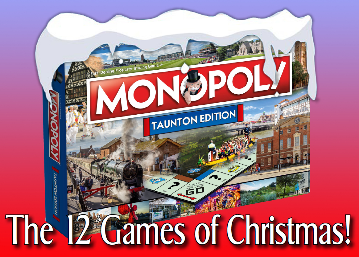 GIVEAWAY: 12 people won a copy of the Taunton Monopoly