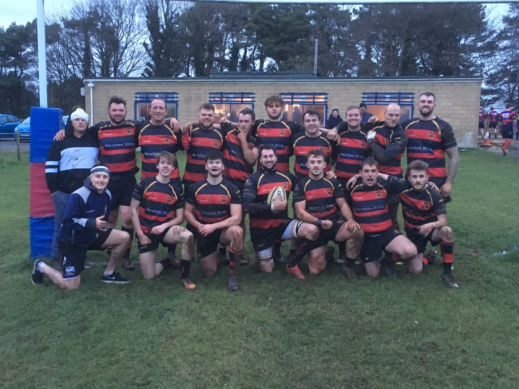 SQUAD: Wellington RFC 2nd XV, who sit seventh in Somerset One going into the Christmas break.