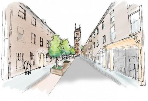 Somerset County Gazette: DELAYS: Pedestrianisation plans have been shelved
