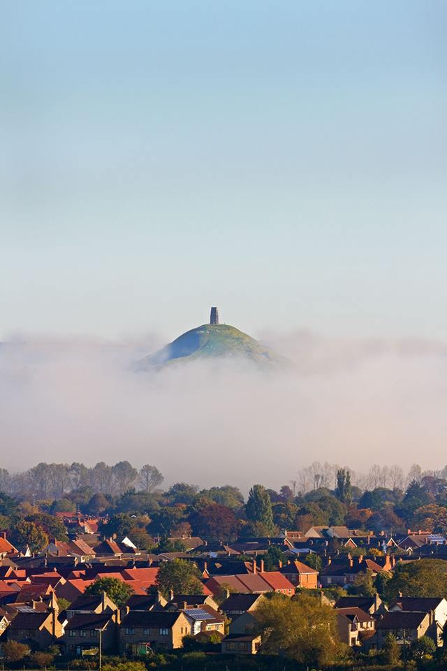 RISING FROM THE MIST: Somerset Camera Club member Liam Culliford's amazing image of the Glastonbury Tor