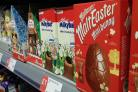 Easter eggs have started to appear on supermarket shelves