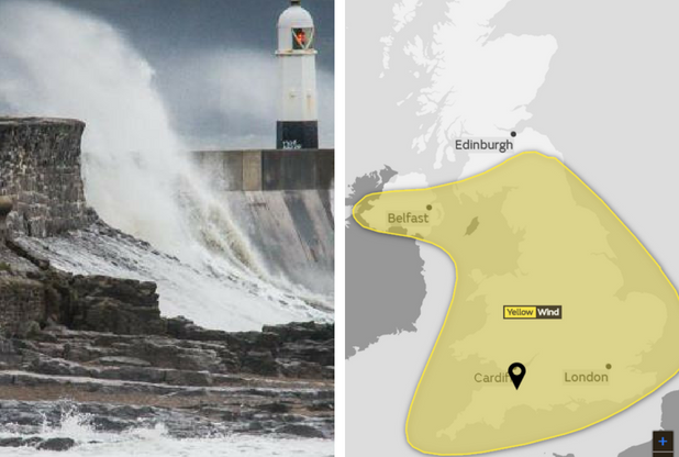 STORM ELEANOR: Flood warnings are in place across the Somerset coast
