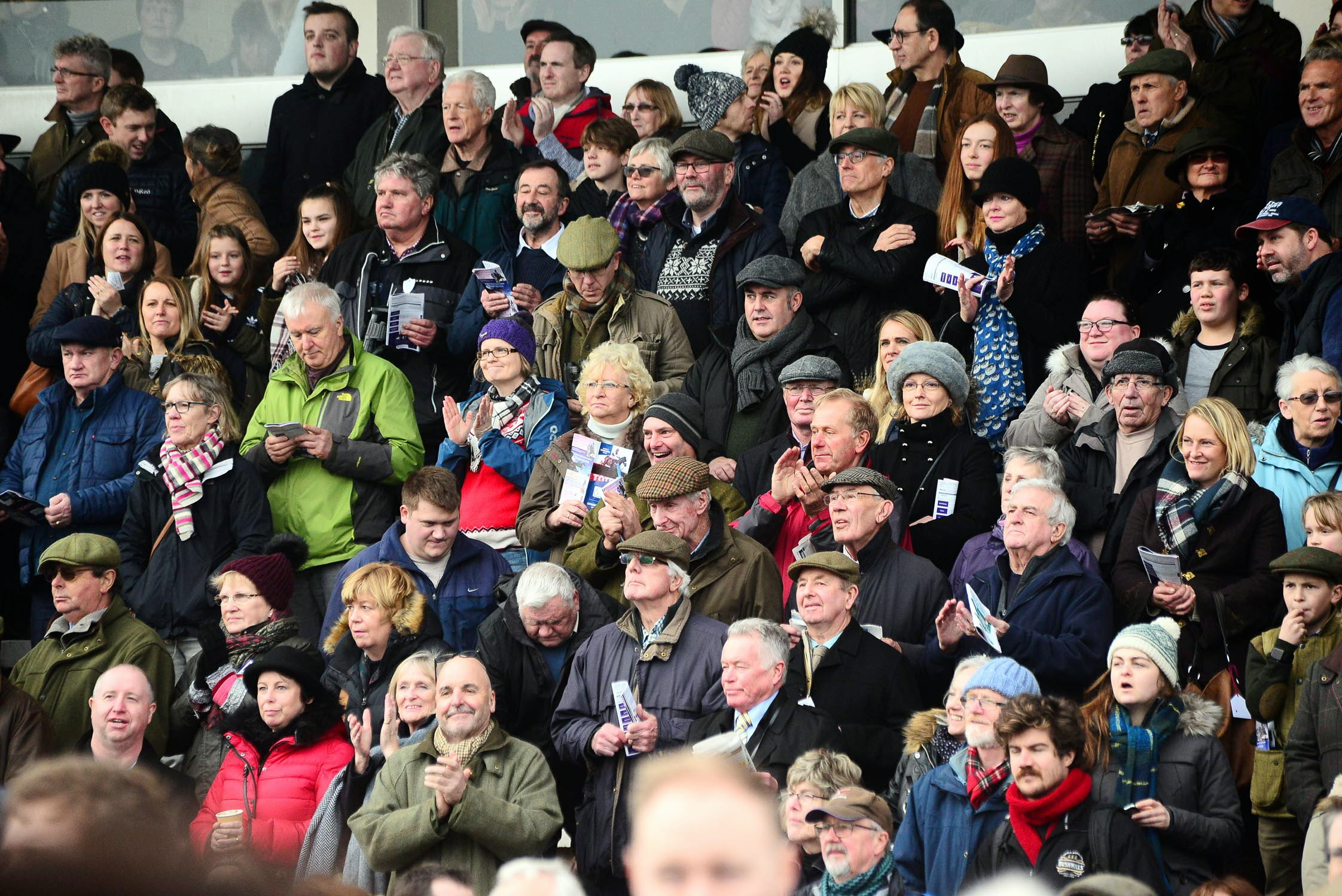 LUCKY DAY?: Punters will be hoping for some success at Taunton's Spring Meeting