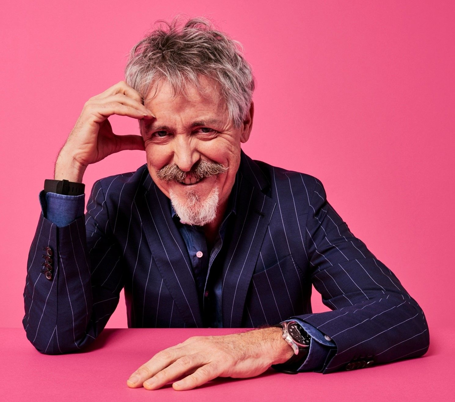 THE BIG INTERVIEW: Griff Rhys Jones hits the travel road as he prepares to come to Somerset