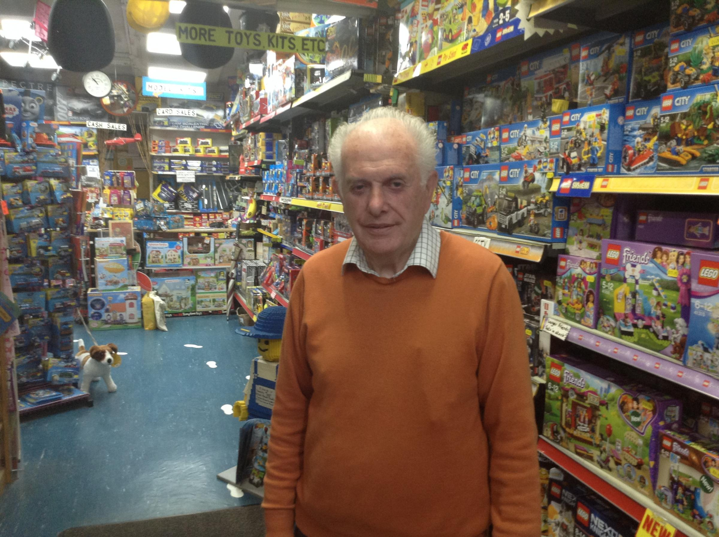 Celebrating the oldest independent toy shop in Taunton...Watkin Toy Shop