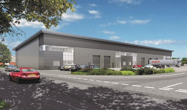 DEVELOPMENT: What the new industrial space in Taunton will look like