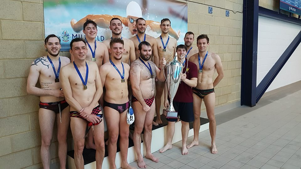 WINNERS: Somerset's men's water polo champions.