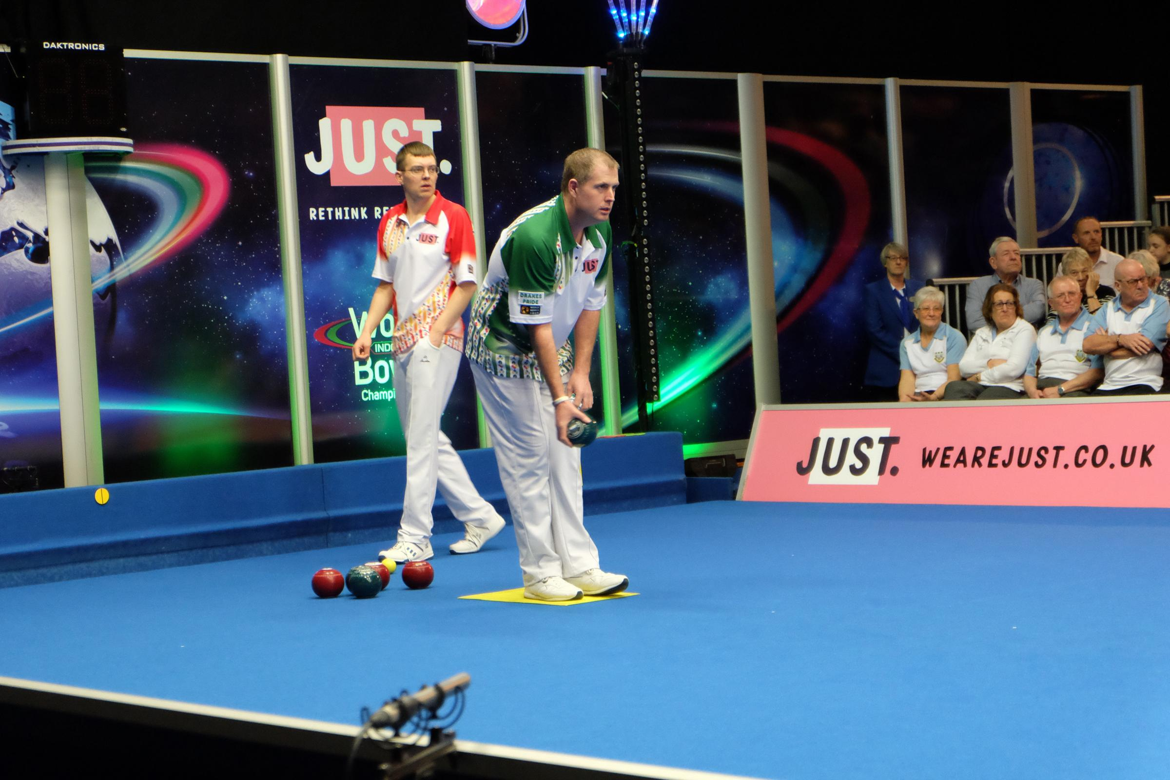 FINAL HURDLE: Rob Paxton finished runner-up in the World Indoor Championships singles competition. Pic: Dominic Picksley