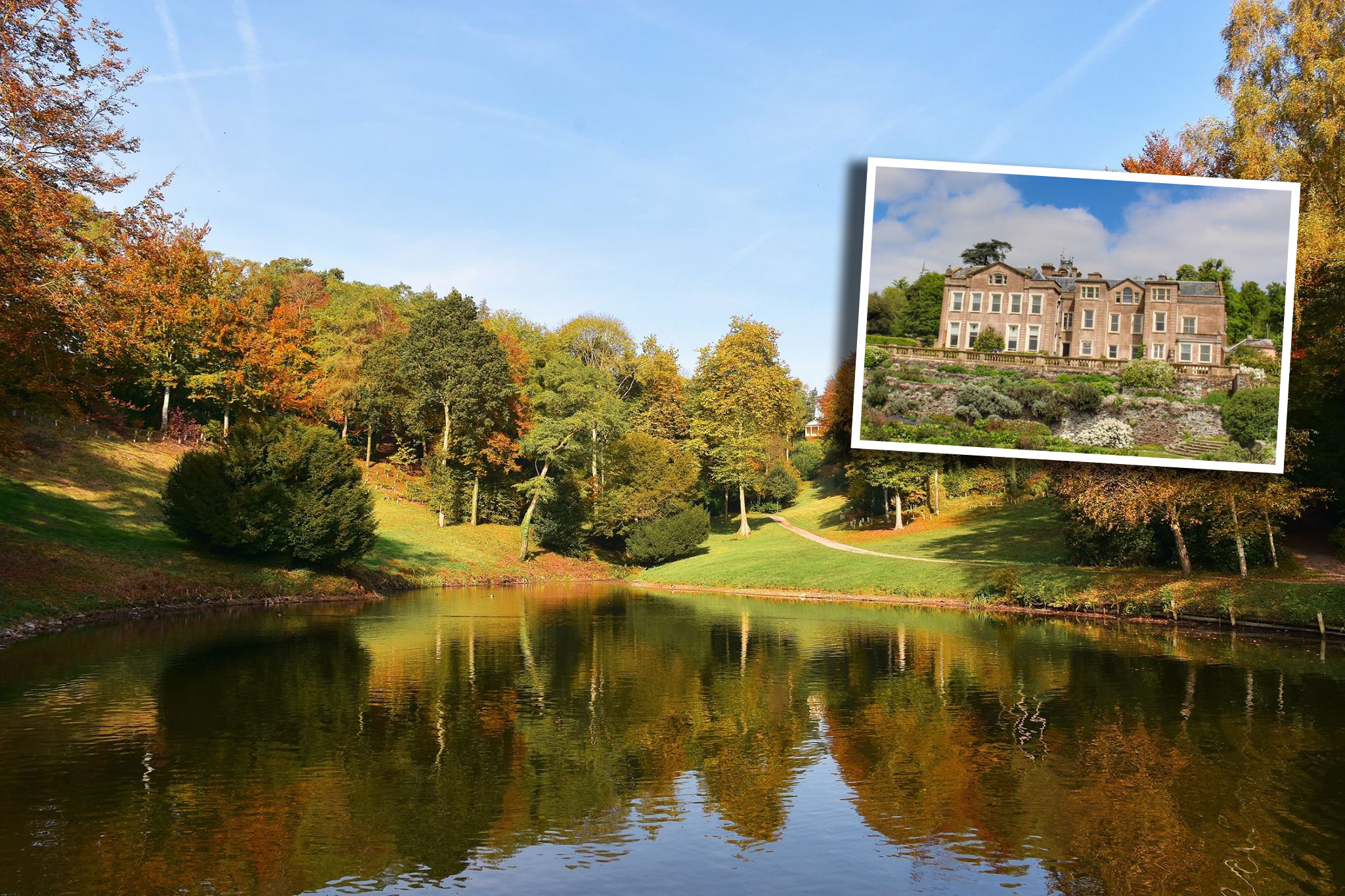SALE: The land surrounding Hestercombe House will be bought by the Trust