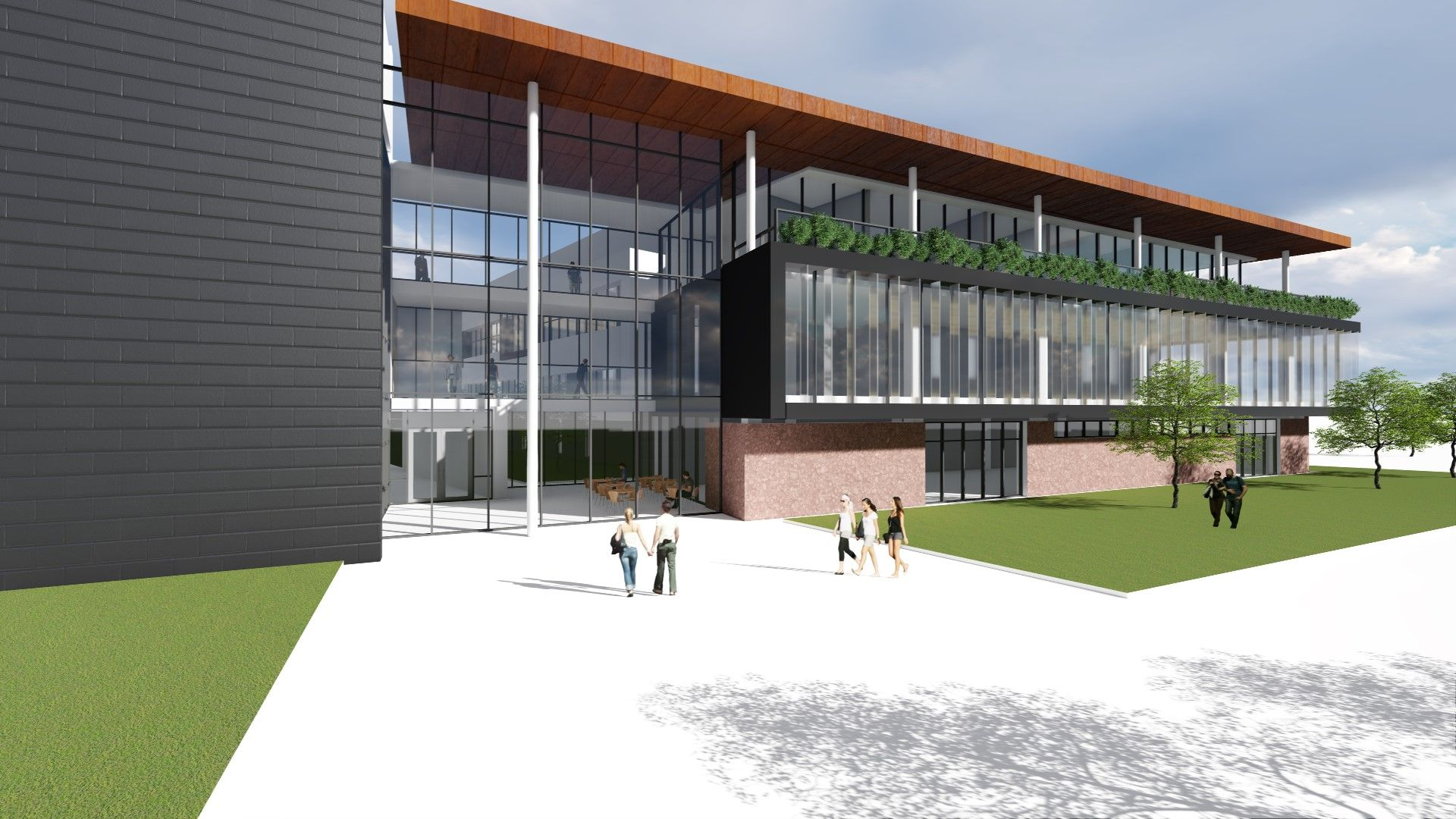 PROPOSALS: An image of how the surgical unit could look at Musgrove Park Hospital
