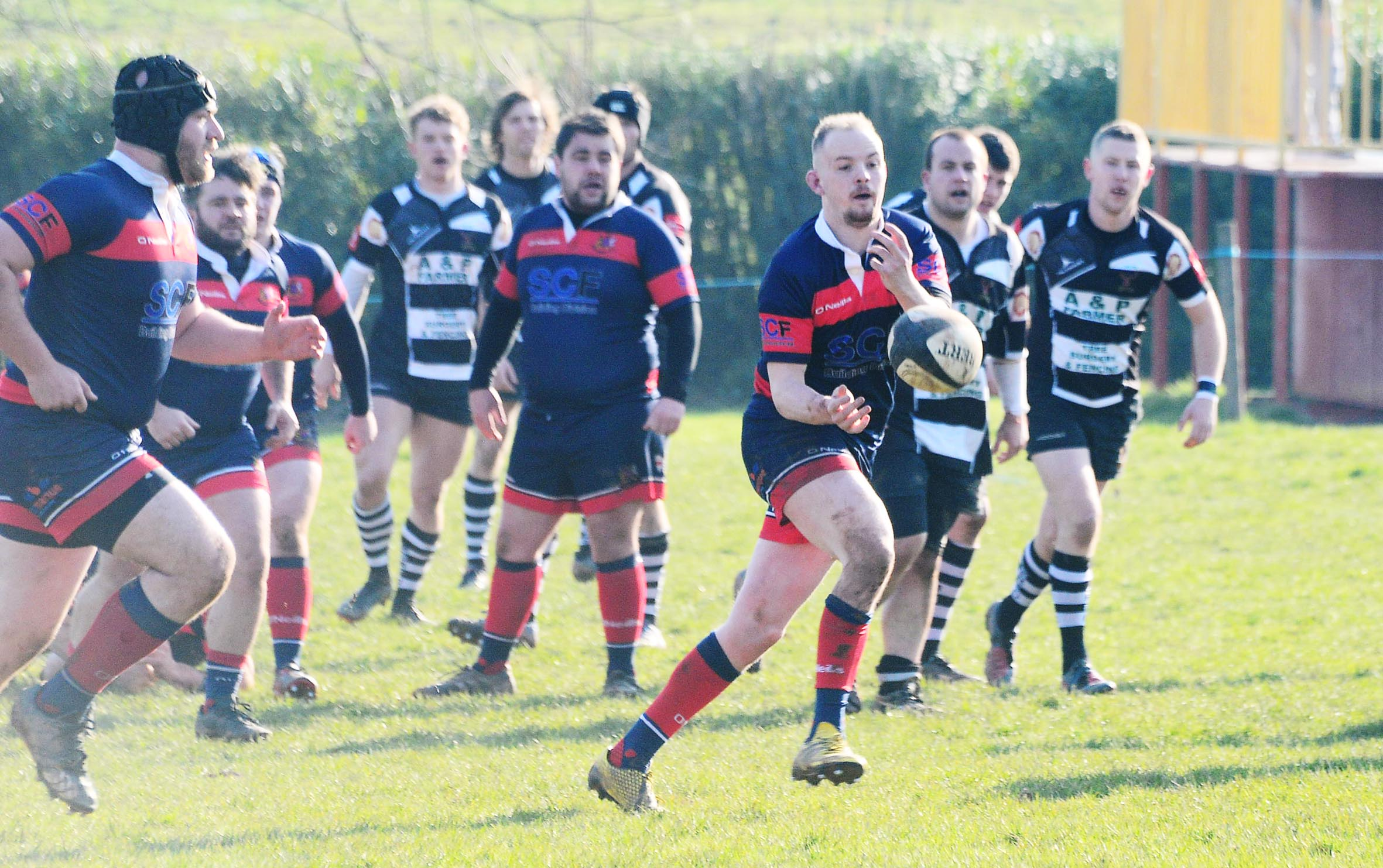 VICTORY: Wiveliscombe earned 36-20 win at Tor on Saturday